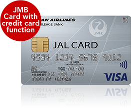JMB Card with credit card function JAL CARD