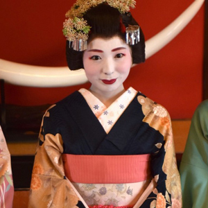 The Maiko of Somaro Teahouse
