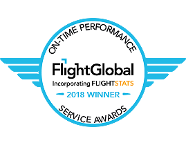 ON-TIME PERFORMANCE SERVICE AWARDS Flight Global Incorporating FLIGHTSTATS 2017