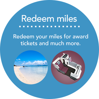 Redeem miles - Redeem your miles for award tickets and much more.