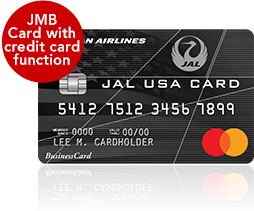 JAL USA CARD JMB Card with credit card function