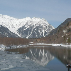 Winter Trekking in Kamikochi