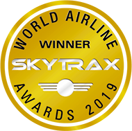 WORLD AIRLINE AWARD 2019 WINNER SKYTRAX