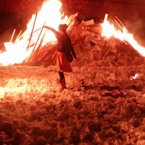 Kakunodate Fire and Snow Festival