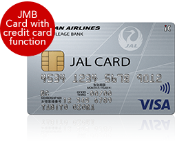 JAL CARD JMB Card with credit card function