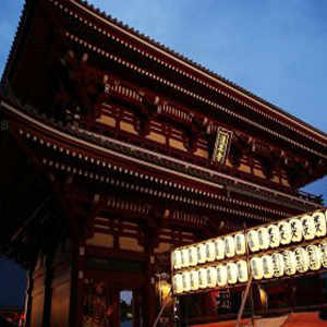 Night Scenes in Asakusa