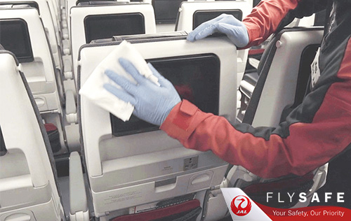 Fly Safe with JAL