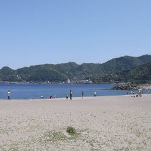 Nagahama Beach Park in Izu