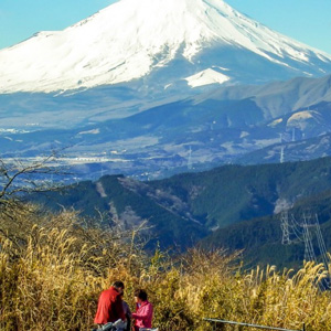 Hiking Mt Ono with Views of Mt. Fuji