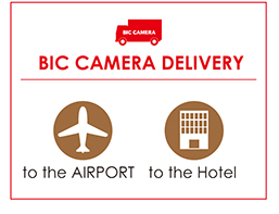 BIC CAMERA DELIVERY to the AIRPORT to the Hotel